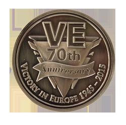 VE Day Commemorative Coin