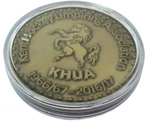 Hockey Commemorative Coin in capsule