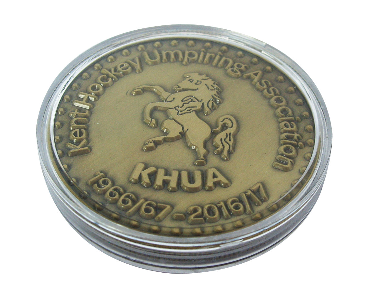 Hockey Coin in Capsule