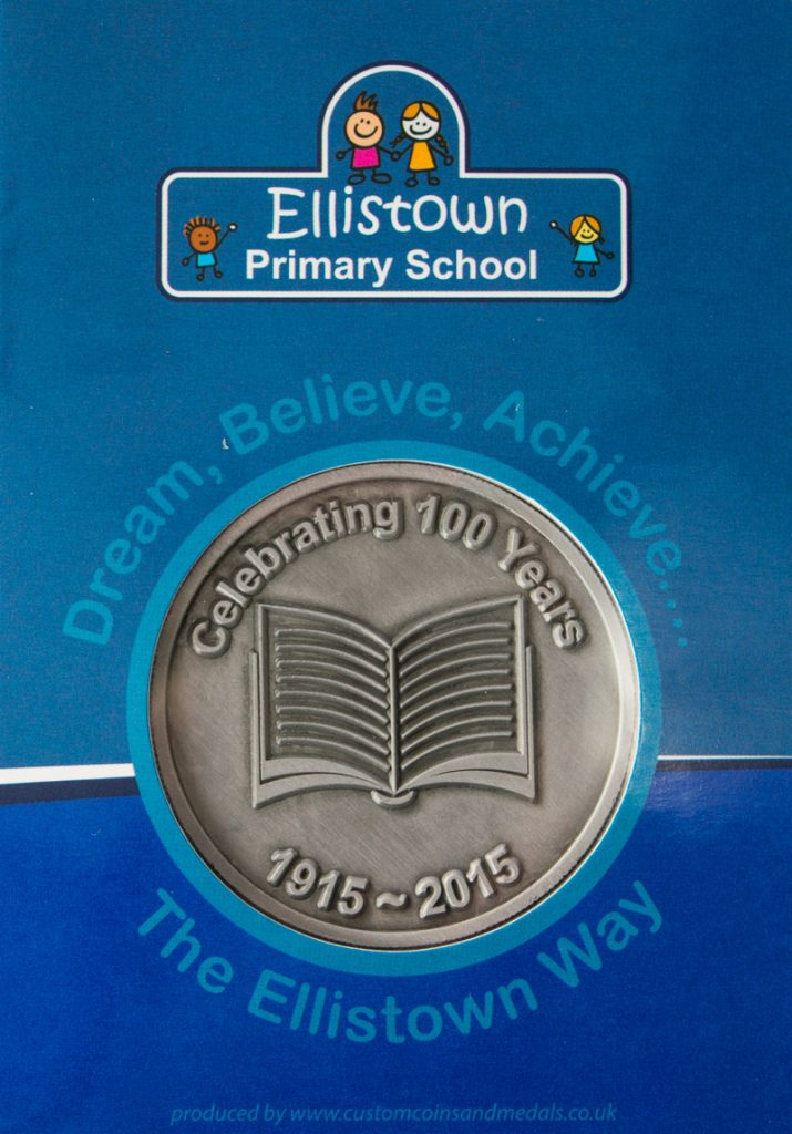 Ellistown Primary School Coin