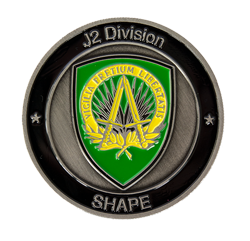 J2 Division Military coin
