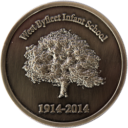 West Byfleet Infant School Coin