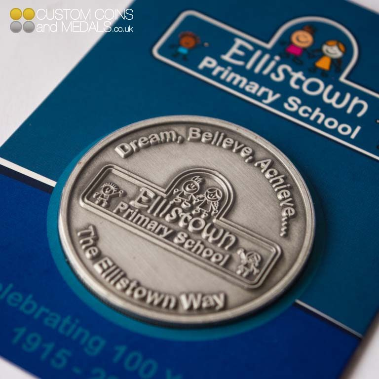 Ellistown PS Mini Coin Card