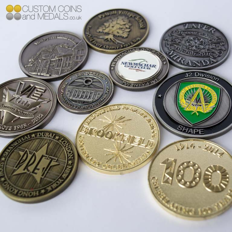 Group Image of Coins.
