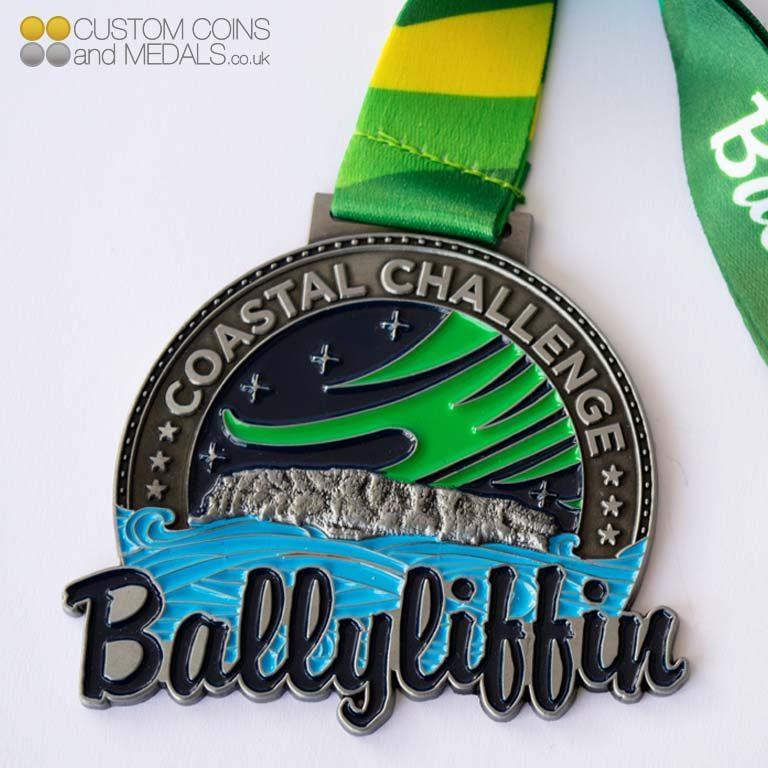 Ballyliffin Coastal Challenge Medal