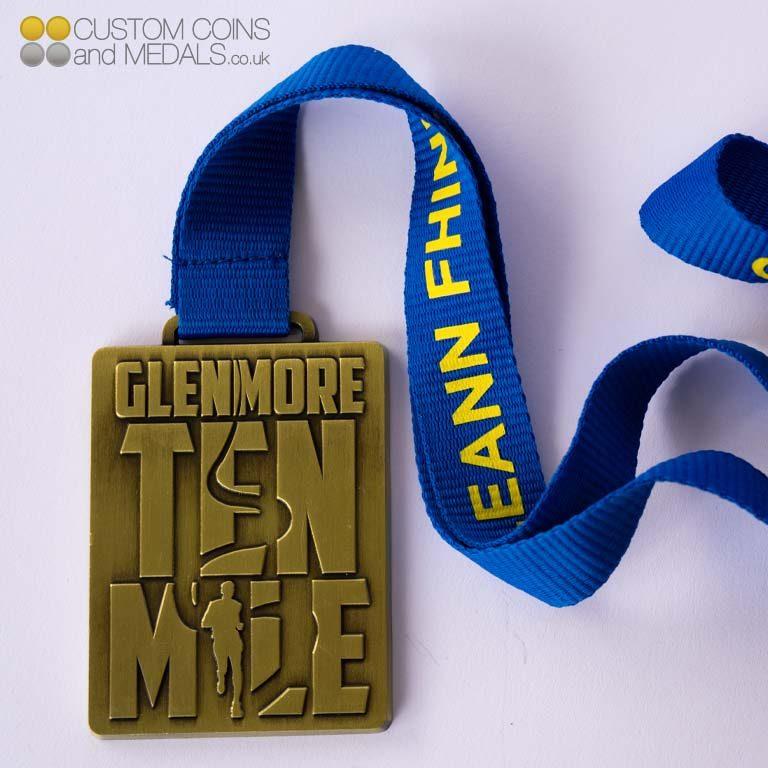 Glenmore 10 Mile Medal