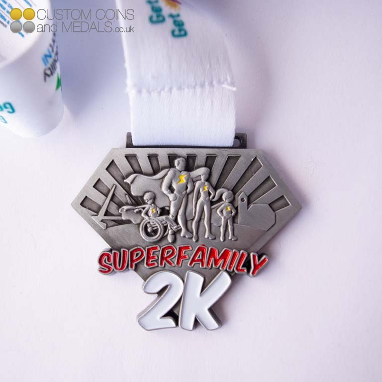 Superfamily 2K Superman Medal
