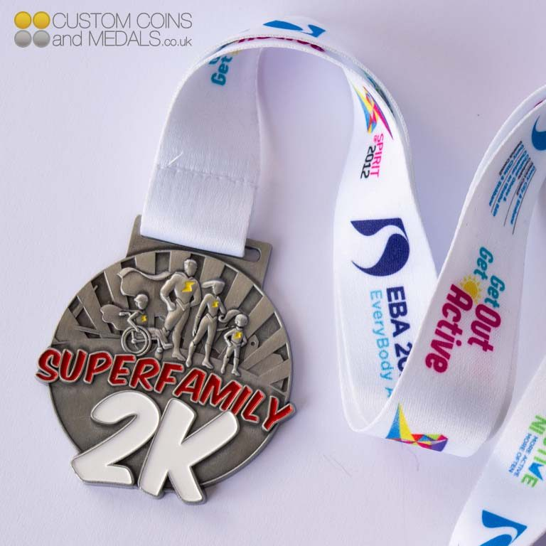 Superfamily 2K Round Medal