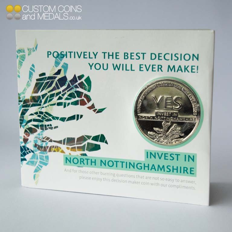 Nottinghamshire Coin Card