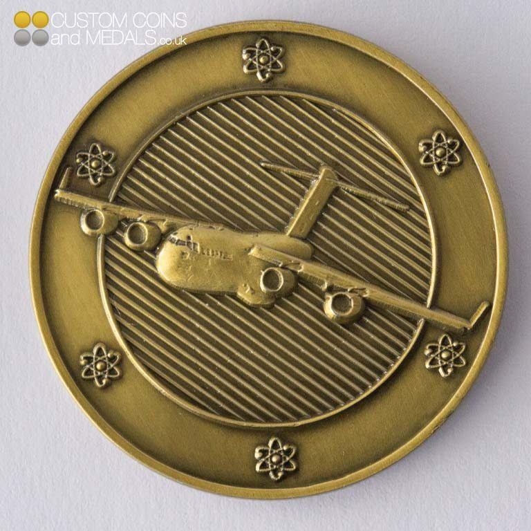 HEU Project Coin - 3D Moulded