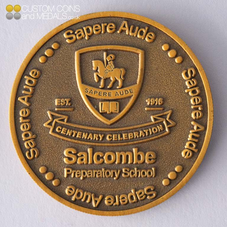 Salcombe Primary School Coin
