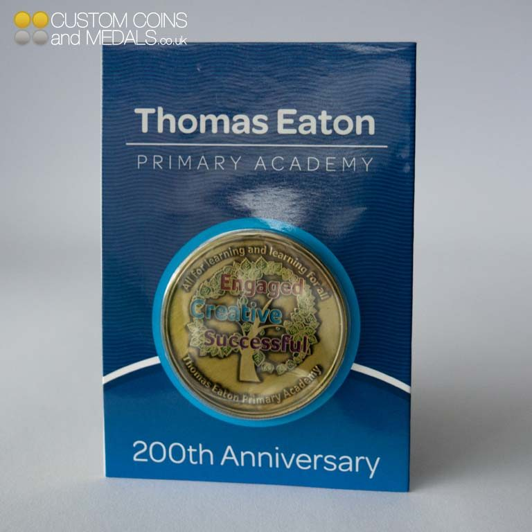 Thomas Eaton Primary Mini Coin Card