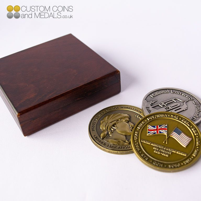 Wooden Coin Box Group